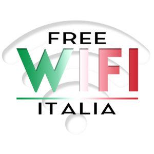 Logo Free Wifi Italia